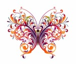 Abstract-Floral-Butterfly-Vector-Graphic