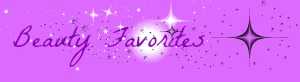 beauty favorites banner