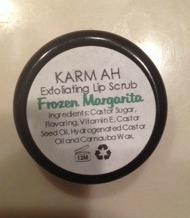 karmah cosmetics lip scrub