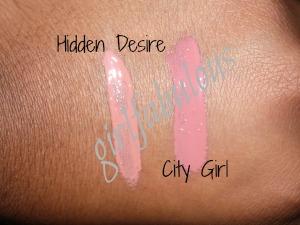 hidden desire and city girl nana coco lip gloss
