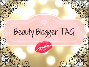 beauty blogger tag
