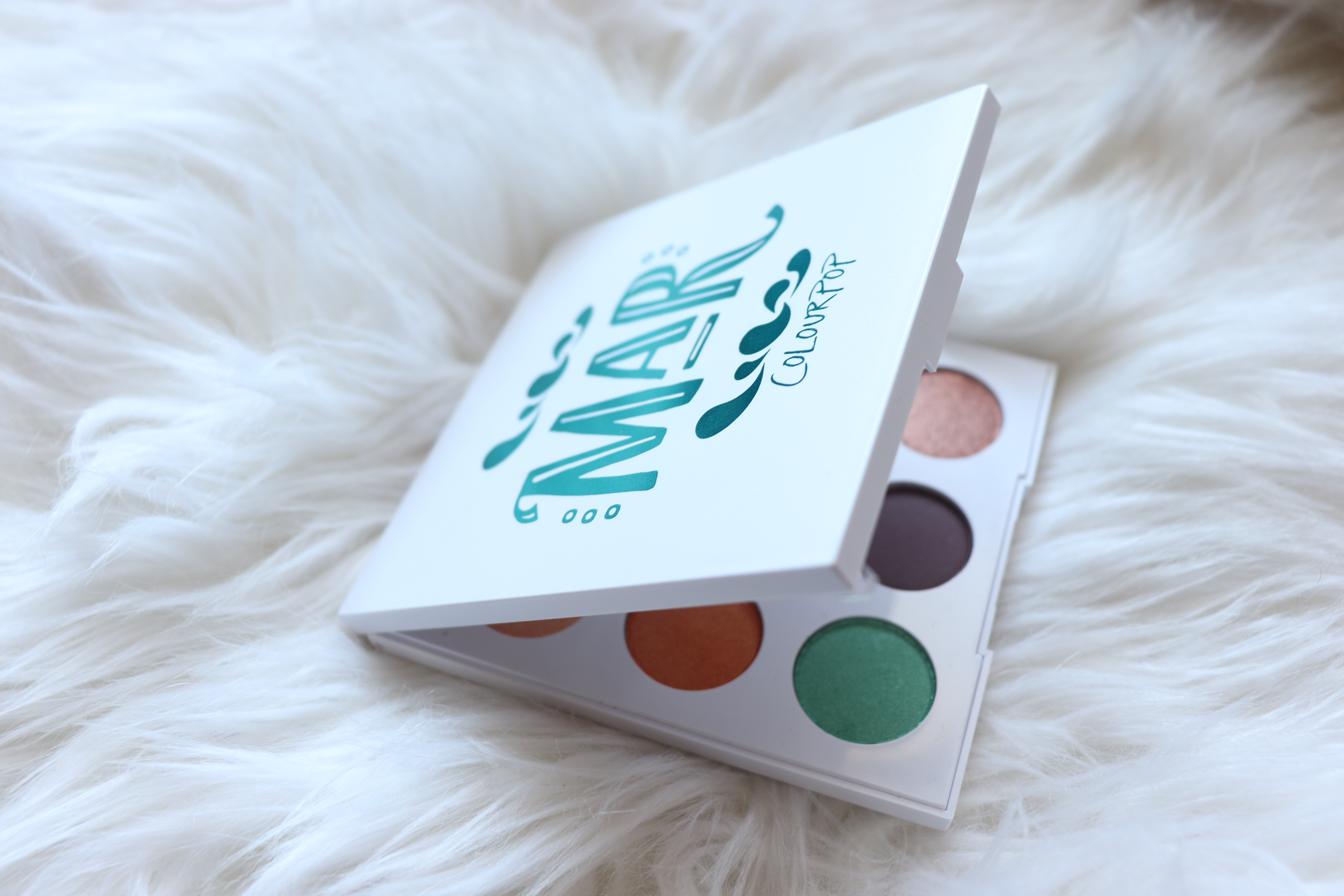 Colourpop Mar Palette Review & Swatches